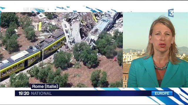 Collision de trains en Italie : une enquête a été ouverte