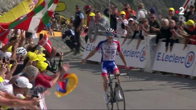 Tour de France : une étape bleu blanc rouge trustée par Pinot et Alaphilippe