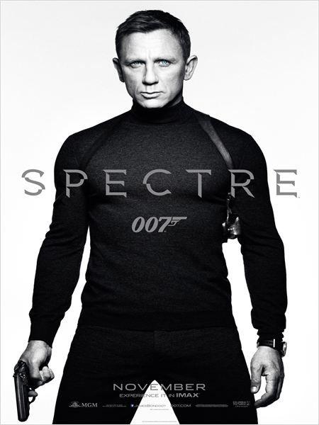 L'affiche de James Bond sur laquelleDaniel Craig porte un pull de marqueN'Peal. (COLUMBIA / EON / DANJAQ / MGM / THE KOBAL COLLECTION)