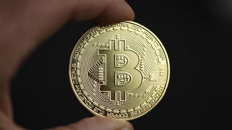 Les escrocsfaisaient espérer un investissement rapide sur de faux sites de vente de bitcoins, de diamants et d'or. (INA FASSBENDER / AFP)