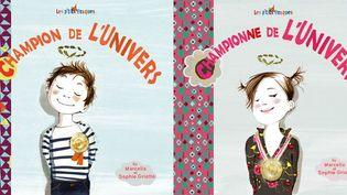 Les couvertures des deux livres pour enfants, de Marcella et Sophie Griotto  (Les Editions des Braques)