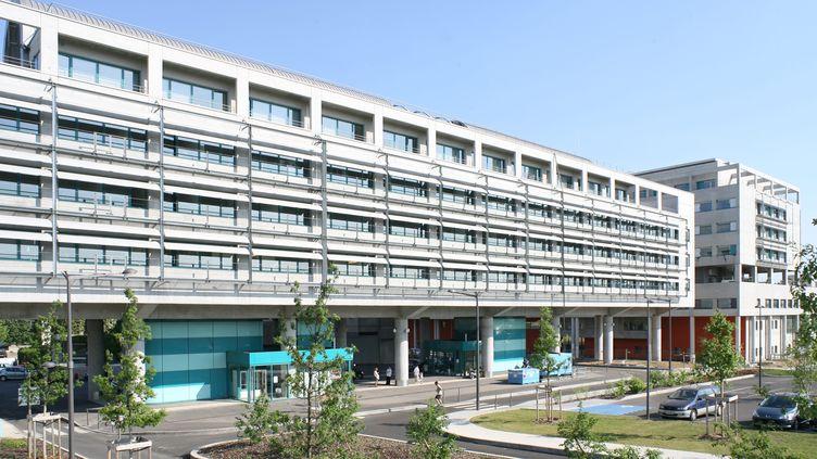 L'hôpital Mère et enfant de Bron (Rhône-Alpes), le 9 janvier 2009. (MAXPPP)