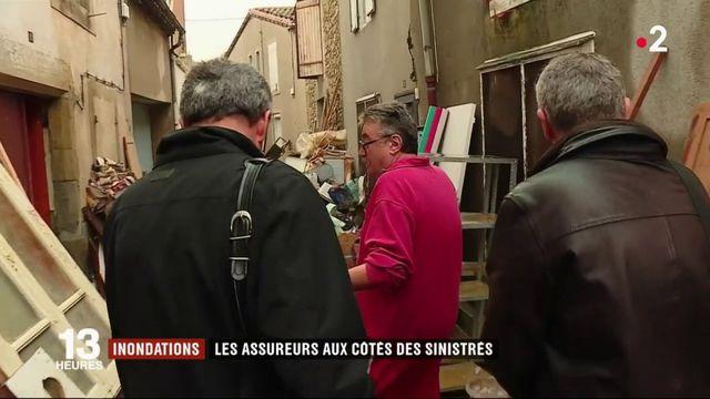 Inondations dans l'Aude : les experts d'assurance déjà auprès des sinistrés