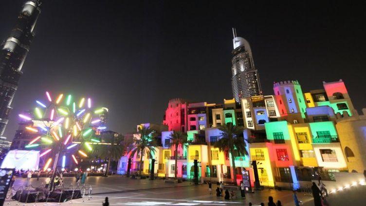 Dubaï Festival of Lights  (KARIM SAHIB / AFP)