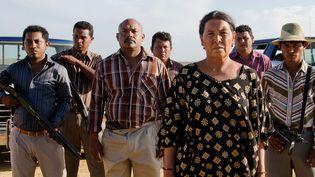 """Un image du film """"Les oiseaux de passage""""  (Ciudad Lunar Blonde Indian Mateo Contreras)"""