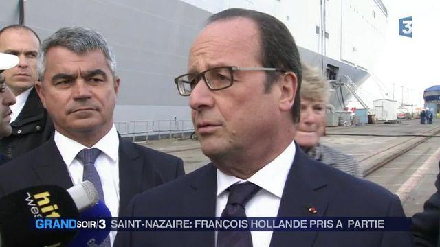 François Hollande rattrapé par le conflit à Air France
