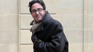 Aquilino Morelle, le 26 février 2013, dans la cour de l'Elysée (Paris). (JACQUES DEMARTHON / AFP)