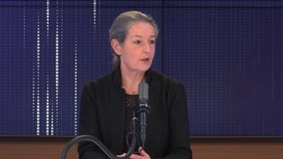 L'infectiologue Odile Launay, invitée de franceinfo lundi 22 février 2021. (FRANCEINFO / RADIO FRANCE)