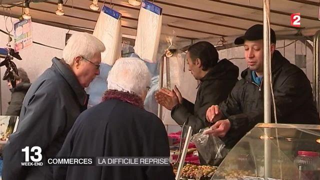 Attentats de Paris : les clients sont de retour dans les magasins