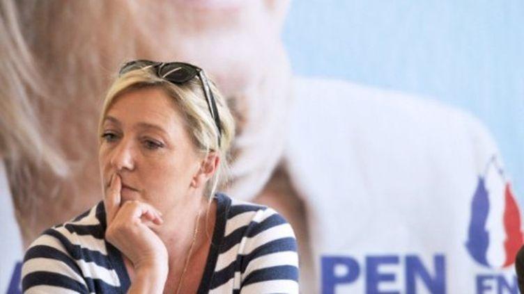 Marine Le Pen privée de rencontre avec Ron Paul (AFP)