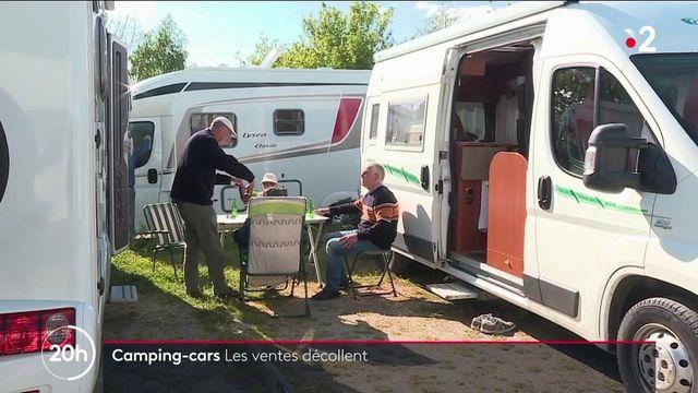 Crise sanitaire : les ventes de camping-cars décollent