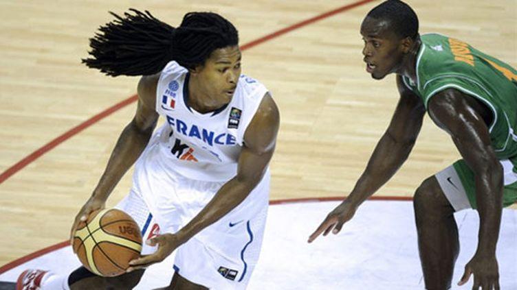 Mickael Gelabale face aux Ivoiriens