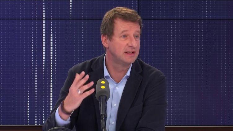 Yannick Jadot, député européen EELV, invité de franceinfo le 5 novembre. (FRANCEINFO / RADIO FRANCE)