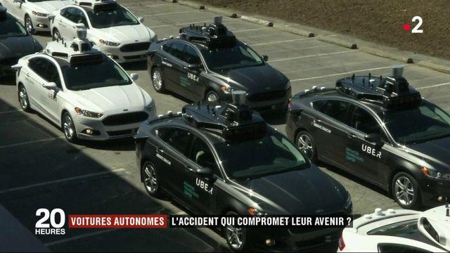 Voitures autonomes : l'accident qui compromet leur avenir ?