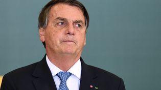 Le président brésilien, Jair Bolsonaro, le 7 octobre 2021. (EVARISTO SA / AFP)