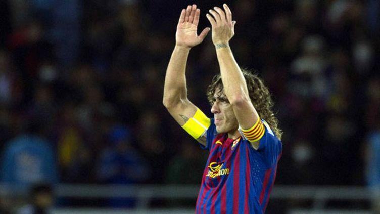 Le défenseur du FC Barcelone Carlos Puyol