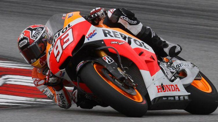 Marc Marquez (Honda) (PETER LIM / AFP)