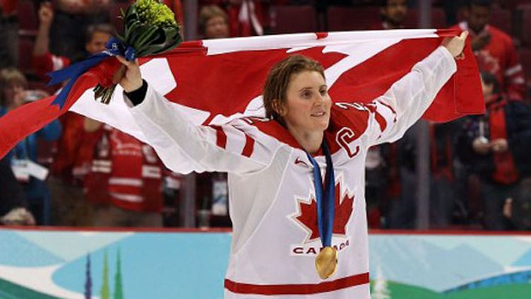 La hockeyeuse canadienne Hayley Wickenheiser