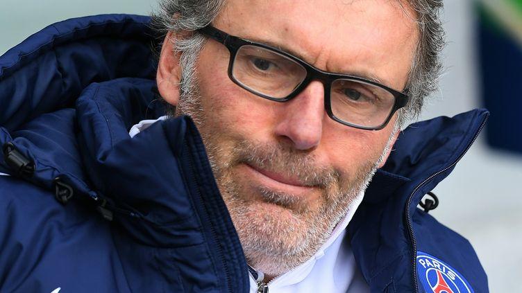 Laurent Blanc, l'entraîneur du PSG (FRANCK FIFE / AFP)