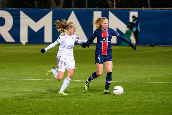 Katja Snoeijs et les Bordelaisesdoivent s'imposer face à Wolfsburg pour rejoindre en phase de groupe le PSG, qualifié d'office. (MELANIE LAURENT / A2M SPORT CONSULTING)