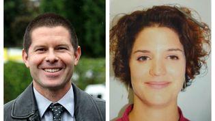 Photos diffusées par la Police nationale de Jean-Baptiste Salvaing et Jessica Schneider, tués lundi 13 juin à Magnanville (Yvelines) par Larossi Aballa. (POLICE NATIONALE)