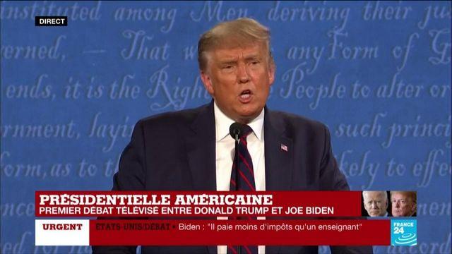 Donald Trump refuse de condamner les suprémacistes blancs
