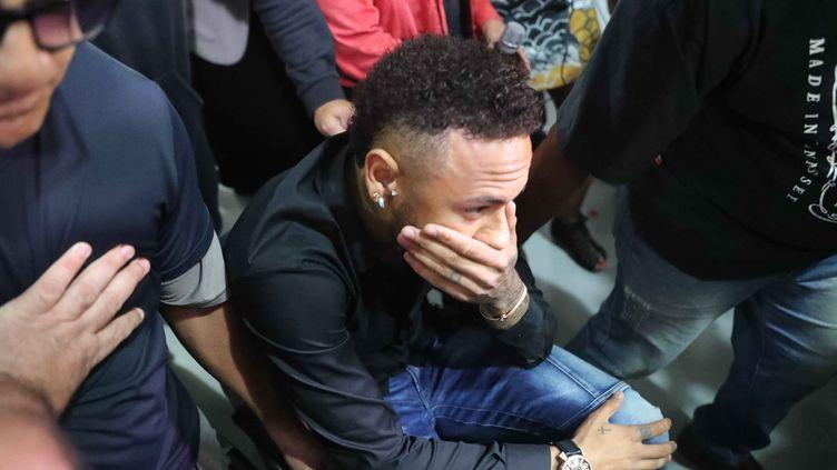 Neymar, le 6 juin 2019, à Rio de Janeiro. (CESAR SALES / AFP)
