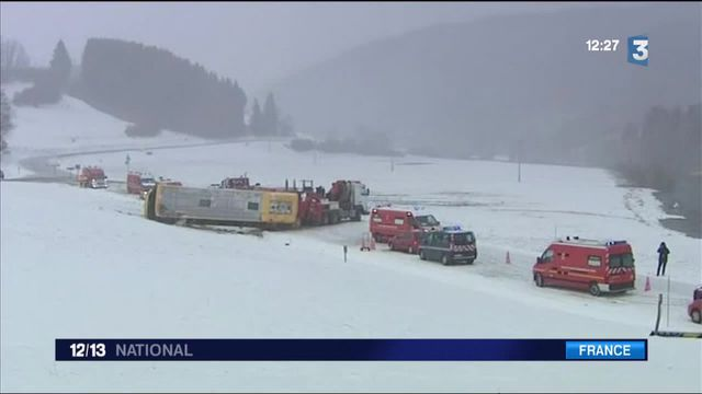 Accident d'un bus scolaire dans le Doubs : deux enfants tués