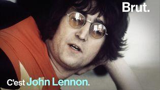 VIDEO. On vous raconte l'histoire de John Lennon (BRUT)