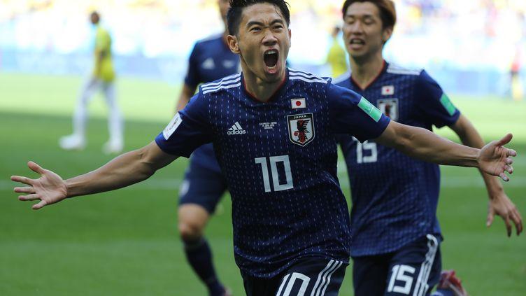 Le Japon a parfaitement débuté sa Coupe du monde face à la Colombie (2-1). (KUNIHIKO MIURA / YOMIURI)