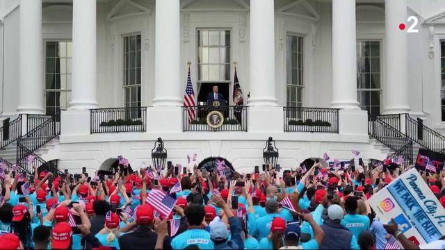 Élection américaine : Donald Trump relance sa campagne