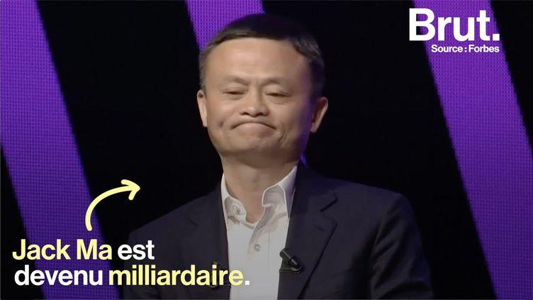 Ce jeudi 16 mai, le fondateur de la société Alibaba, Jack Ma, était à Paris pour faire une conférence au salon VivaTech. Un discours très attendu. (BRUT)