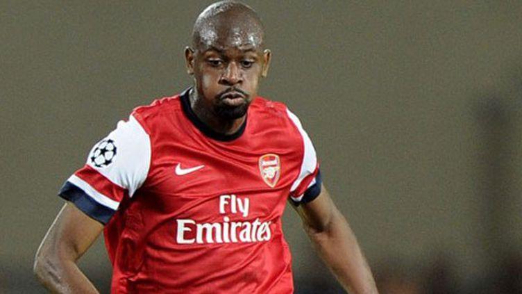 Le joueur d'Arsenal, Abou Diaby