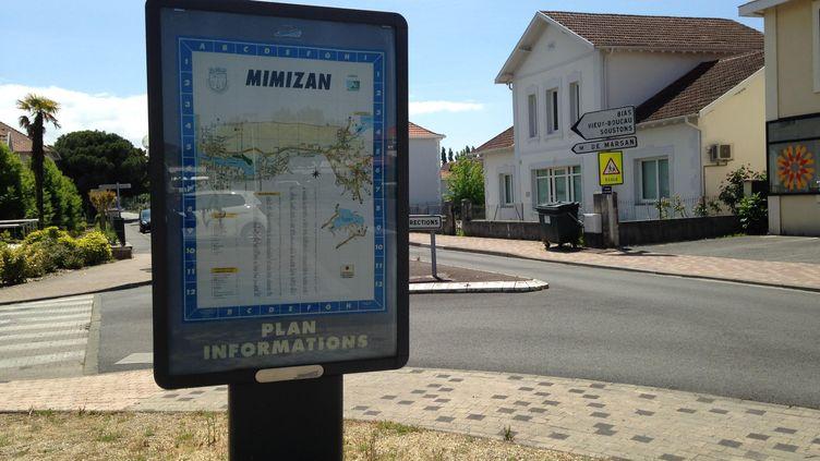 A Mimizan (Landes), 15,71% des votants ont fait le choix dubulletin blanc lors du second tour de la présidentielle, dimanche 7 mai 2017. (MARGAUX DUGUET / FRANCEINFO)
