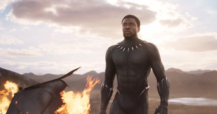 "Chadwick Boseman dans ""Black Panther"" de Ryan Coogler  (Marvel Studios 2018)"