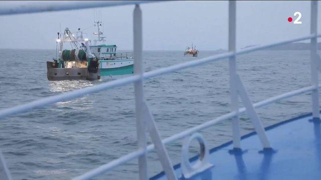 Pêche : des matelots français manifestent à Jersey contre les quotas imposés depuis le Brexit
