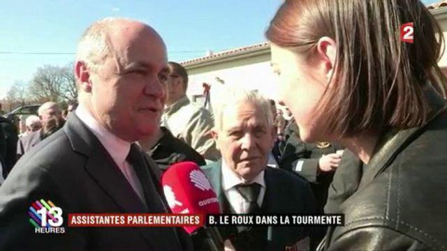 Le ministre de l'Intérieur, Bruno Le Roux, dans la tourmente