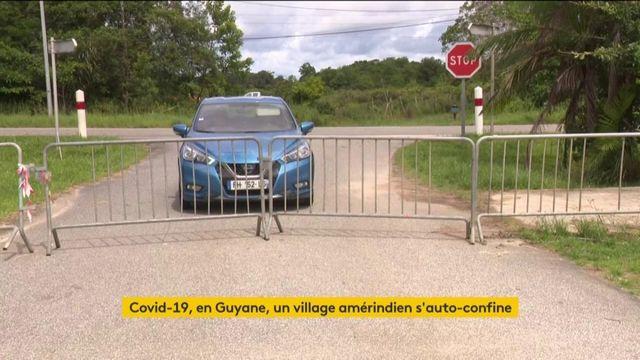 Guyane : un village amérindien décide se confiner