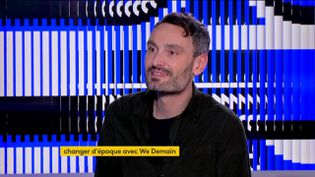 """Antoine Lannuzel, journaliste pour """"We Demain"""" (FRANCEINFO)"""