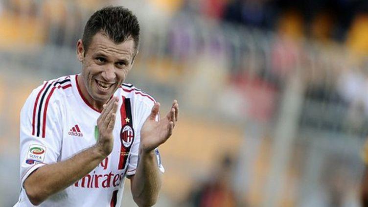 Antonio Cassano (Milan AC) (FILIPPO MONTEFORTE / AFP)