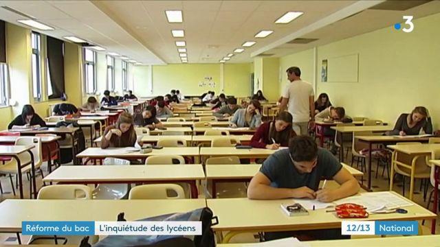 Réforme du bac : l'inquiétude des lycéens