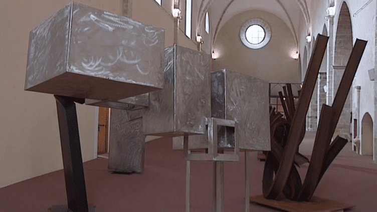 Les oeuvres de Beppo et Rives à Draguignan  (France 3 / Culturebox)