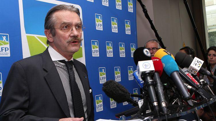 Frédéric Thiriez, président de la Ligue (MIGUEL MEDINA / AFP)