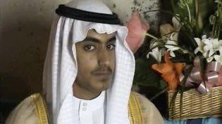 Une photo non datée, diffusée par la CIA en 2017, de Hamza Ben Laden, l'un des fils d'Oussama Ben Laden présenté comme son héritier à la tête d'Al-Qaïda. (CIA / AFP)