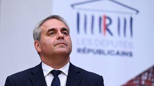 Le président de la région Hauts-de-France à Nîmes (Gard), le 10 septembre 2020. (PASCAL GUYOT / AFP)