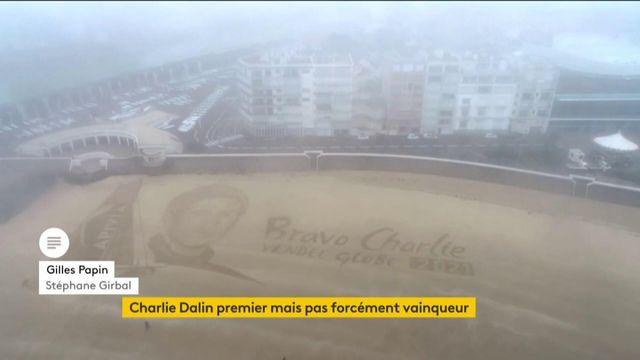 Vendée Globe : les émotions de Charlie Dalin après son arrivée aux Sables-d'Olonne