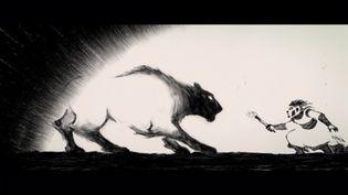 """Une image du film d'animation """"Traces"""", produit par Les Films du Nord. (FRANCEINFO)"""