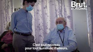 VIDEO. Covid-19 : En immersion dans un Ehpad pour suivre une campagne de vaccination (BRUT)