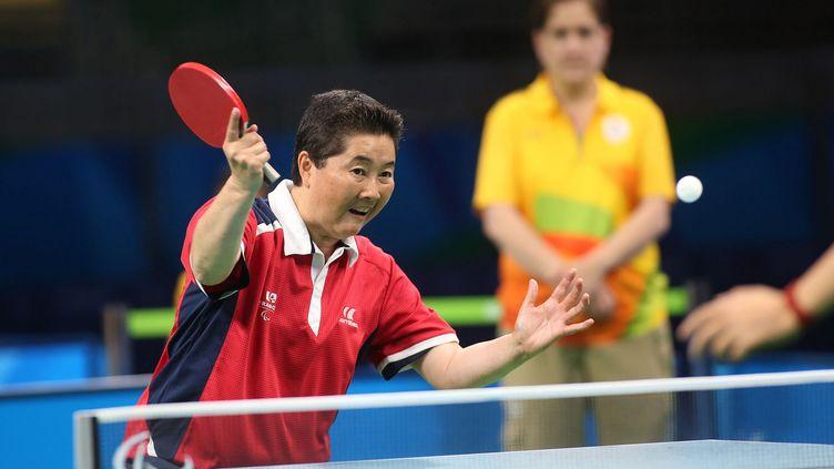 Deuxième médaille d'argent consécutive aux Jeux Paralympiques pour Thu Kamkasomphou.