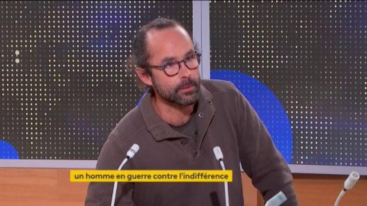 Cédric Herrou (FRANCEINFO)